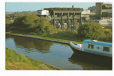 Postcard Anderton Boat Lift Northwich Cheshire canal narrowboat  (A15)