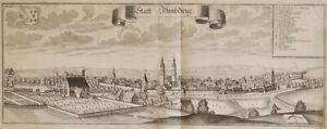 WEMDING : Kupferstich, Michael Wening, 2. Auflage, gedruckt um 1750