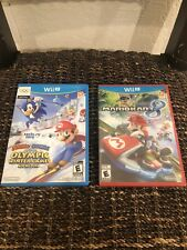 MARIO KART 8 NWT—MARIO & SONIC Olympic Winter Games Used .!!