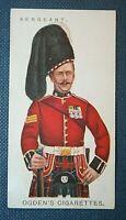 QUEEN'S OWN CAMERON HIGHLANDERS     Superb Original 1909 Vintage Card
