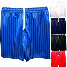 Back To School Shadow Stripe Gym Sports Games School PE Uniform Shorts Unisex