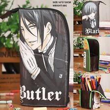 Kuroshitsuji Black Butler Ciel Pencil Case Pen Bag Container Cosplay Gifts