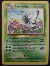 Pokemon Card Jungle Set Butterfree 33/64
