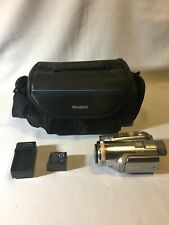 Panasonic Pv-Gs500 4Mp 3Ccd MiniDv Camcorder Mint