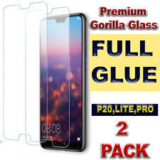 100% GORILLA-TEMPERED GLASS SCREEN PROTECTOR FOR HUAWEI P20 PRO P20 LITE&VARIOUS