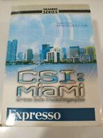 Csi Miami Complete First Season - 6 X DVD Inglese Portuguese