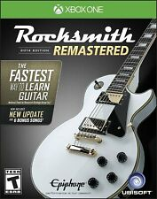 RockSmith Remastered 2014 Edition Package Real Tone Cable XBOX ONE Standard NEW