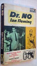JAMES BOND DR.NO IAN FLEMING 1ST/10 SB 1963 PAN FILM-TIE SEAN CONNERY,U ANDRESS