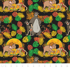 Fat Quarter Disney Classic Jungle Book Friends 100% Cotton Quilting Fabric
