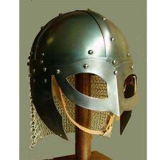 Schlacht Bereit Wikinger Vendel Helm Brillenhelm Kettenhemd Halloween Geschenk