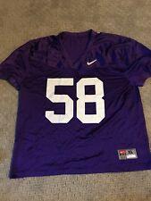 Washington Huskies Game Worn Used Purple Practice Jersey Nike Football Vintage