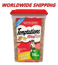 Temptations Classic Cat Treats Backyard Cookout Chicken & Beef 16 Oz WORLD SHIP