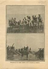 WWI debarkation British Army Gallipoli Dardanelles Turkey War 1915 ILLUSTRATION