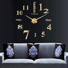 wanduhren in stil:modern, zimmer:wohnzimmer, farbe:gold | ebay