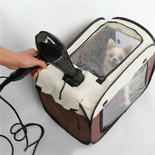 Pet Dog Cat Bags Foldable Portable Blower Dryer Grooming House Drying Hair Cage