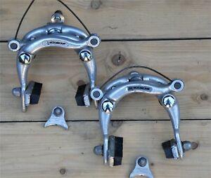 Motobecane Centre Pull Brake Caliper Set(Pair with Straddles) - Dia Compe