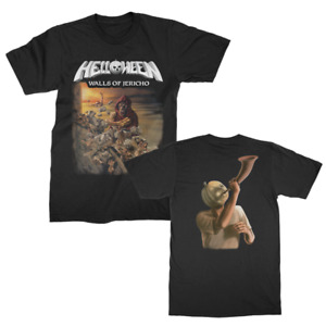 Helloween Walls of Jericho Album Cover Power Metal Music Band T Shirt 10135214