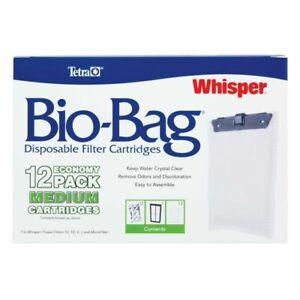 Tetra 26160 Whisper Bio-Bag Cartridge, Unassembled, Medium, 11 pack. 1 missing