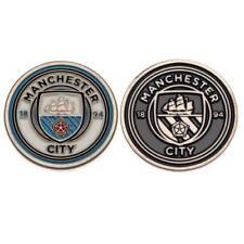 Manchester City FC Enamel Golf Ball Marker Design of the Club Crest (j05bmamc)