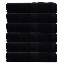 Juego de toallas de baño y albornoces color principal negro con toalla de baño