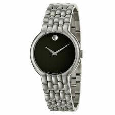 Movado Men's Classic 38mm Steel Bracelet & Case Swiss Quartz Watch 0606337