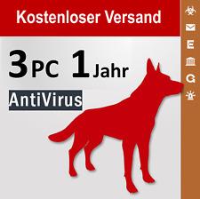G Data AntiVirus 2018 Vollversion GDATA 3 PC / 1 Jahr plus Bonus-Periode