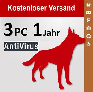 G Data AntiVirus 2021 Vollversion GDATA, 3 PC, 1 Jahr + 3 Monate Bonus