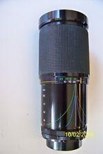 VIVITAR CANON MTG 28-200mm 1:3.5-5.3 macro zoom