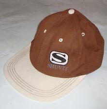 SHUVIT Skate Cap Original '80s Skateboard Classic - BROWN - NOS