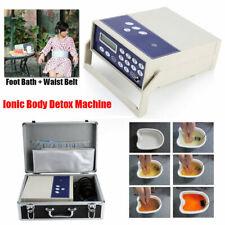 Body Detoxiation Machine Ion Array Footbath Spa Cleanse Ionic Waist Belt NEWEST!