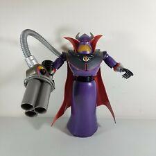 "Emperor Zerg Disney Talking Action Figure Toy Story Villain 14"" Tested"