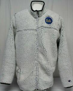 *NEW* Champion UCLA Bruins Men's Sherpa Super Soft Full Zip Jacket