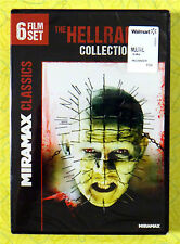 The Hellraiser Collection: 6 Film Set ~ New DVD Movie ~ Rare Horror Sealed