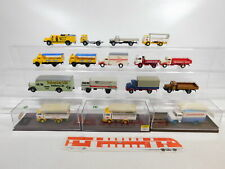 CA394-1 #16x Brekina 1:87 / H0 Camión MB: 4808+ DB + Schenker + Henninger Etc.