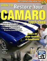 CAMARO RESTORATION MANUAL HOW TO RESTORE BOOK CHEVROLET Z/28 CHEVY SS