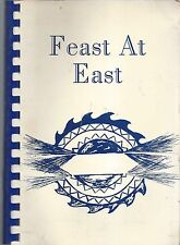 JEFFERSON WI 1981 VINTAGE *EAST ELEMENTARY SCHOOL COOK BOOK FEAST AT EAST *RARE