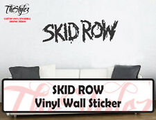 Skid Row Rock Band Custom Vinyl Wall Sticker