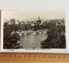 Photo Postcard Sidues Series No 1045 Botanical Garden Reach Brisbane River QLD