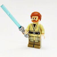 Lego Obi-Wan Kenobi Dark Tan Legs 75040 Jedi Knight Master Star Wars Minifigure