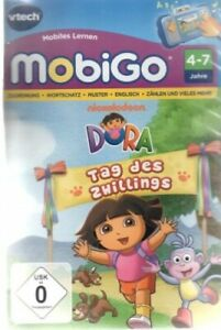 VTECH 80-250804  - MobiGo Lernspiel - Dora Tag des Zwillings - Neu / OVP
