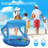 Baby Float Seat Boat Swim Ring Inflatable Toddler Kid Swimming Pool Water Toy