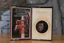 Chopins Greatest hits 2 Cassettes Tapes Classical