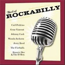 Johnny Cash - Carl Perkins - Gene Vincent - BEST OF ROCKABILLY CD - Brand New
