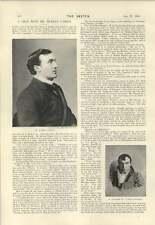 1894 La conversation avec M. Murray Carson Design Pour Leicester Square Statue