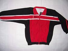 Veste Survêtement Erima Enfant neuve taille 12 ans coloris rouge/noir/blanc