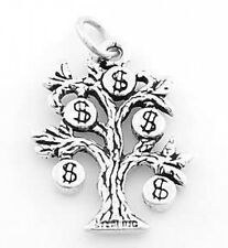 STERLING SILVER MONEY TREE CHARM OR PENDANT