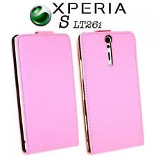 Handy Tasche Sony Ericsson Xperia S / ARC HD LT26i Pink Hülle Etui Cliptasche