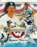 """Robin Yount Milwaukee Brewers MLB Hall of Fame Composite Photo (Size: 8"""" x 10"""")"""