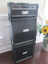 """1980s Crate G200C Xl Amp Mini Stack, 8-speakers total, new 6"""" Eminence speakers"""