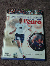 Livre L'euro Au Jour Le Jour FRENCH Soccer Book France Euro Cup 2000 Football